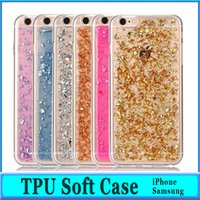 Wholesale 2016 Galaxy S7 Case Iphone Case Colorful TPU Case For iPhone S Plus Galaxy S6 Iphone Plus Soft TPU Gel back cover case