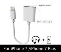 Wholesale For iPhone iPhone plus headphone adapter cable adapter mm charger connected to the same color with the original machine