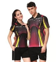 badminton service - Table Tennis Shirt C5 New men women casual sports ping pong jerseys speed dry table tennis suit team travel service group