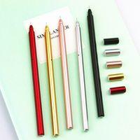 Wholesale X creative metal handle gel pen writing pens stationery canetas material escolar school supplies papelaria
