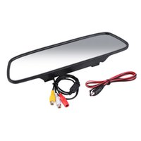 Wholesale 5 quot TFT LCD Screen Car Rear View Mirror Monitor Backup Reverse Camera Parking Assistance hot selling