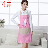 Wholesale Apron with Front Pocket for Chefs Butchers Kitchen Cooking Craft Baking Home Cleaning Tool l