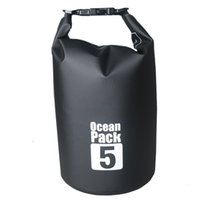 Wholesale 500D PVC colorful waterproof dry bag outdoor ocean pack dry storage L outdoor pack sport pack drop shipping