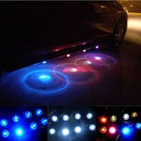 Wholesale 2015 Direct Selling Door Lights Universal New Group Waterproof Multi Colors Decoration Atmosphere Car LED Light