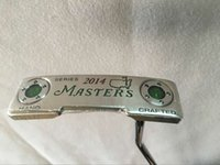 Wholesale 2014 Masters Hand Crafted Golf Putter Master Putters inch With steel shaft Golf clubs Putters Right hand