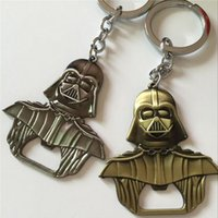 aluminum beer cans - New Arrive Movie star wars Darth Vader Bar Beer Bottle Opener Metal Alloy style Kitchen Tools with keychain