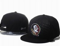 ncaa hats - 2015 Men s Black Florida State Seminoles Snapback Hat NCAA Team Embroidered Logo Adjustable Hat
