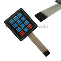 Wholesale x Matrix Array Key Membrane Switch Keypad Keyboard for AVR