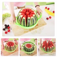 Wholesale New Watermelon Cutter Cantaloupe Melon Slicer Stainless Steel Kitchen Divider Tool