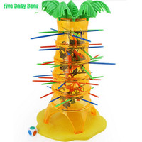 Wholesale Brinquedos Educativos Falling Tumbling Monkeys Children Kids cube Toys for Family Board Game Skill Action Desk Toy puzzle Silent