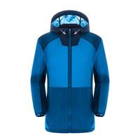 Wholesale Dropshipping men Ultra light Outdoor waterproof Sport Protection Quick Dry Skin Jacket Hiking jacket Rain Coat uv jacket