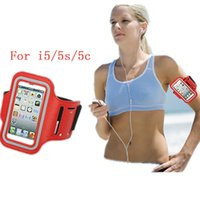 bag cover for cycling - Sport Running Hiking Cycling Phone Bags For iPhone c s Waterproof Armband Arm Band Case Cover