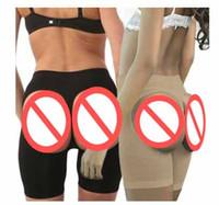 belly trim - Women Open Bottom Butt Lifter Shapwear Buttock Enhancer Boyshort Panties Bum Lift Shapers Knickers Thermal Belly Leg Trimming