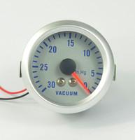 Wholesale 52mm Turbo VACUUM GAUGE meter Colorful luminous TURBO Mete