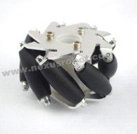 aluminum slot wheels - 60mm Aluminum robot kit compatible Mecanum Wheel Right wheel fitment robot movie robot movie