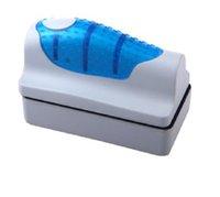 algae size - Aquarium Magnetic Brush Floating Clean Brush Fish Tank Glass Algae Scraper Cleaner Exquisite Small Size Hot