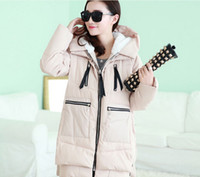 Wholesale Maternity thick coat Winter pregnant women thick Both sides large pockets zippers maternity coat loose pregnant jacket