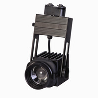 Wholesale Fitech w D focus sharp COB led track light focusable beam angle changeable rotation deg dimming for art studio lighting