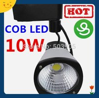 Wholesale Hot Top Quality Aluminum Cob LED Track Light W LED Track Light For Store AC100 V Year Warranty
