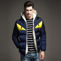 Wholesale Fall Fashion winter coat men down jacket new little monster thicken warm male jacket winter men Down amp Parkas