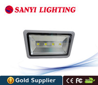 Wholesale 200 watts flood led lights cob chip V V waterproof led flood llight outdoor lamp warm white white RGB