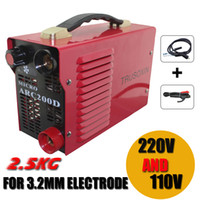 arc machine - 220v V Dual voltage input protable Amp Inverter DC IGBT Micro MMA200 IGBT welding machine with accessories