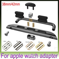 Wholesale Band watchband fastener connector for apple watch mm mm applewatch band adapter for iwatch replace DHL Free