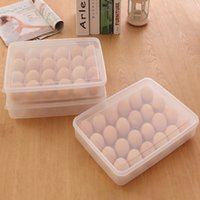 Wholesale Latest Eggs Dumpling Food Storage Boxes Divided Plastic Container Carrier Case Basket Home Kitchen Gadgets Accessories Supplies JH0064