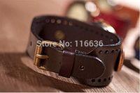 analog company - Genuine Leather Bracelet Watch MEN High Quality wristwatch women Retro Vine Fashion Geneva Style Dropshipping Cheap dropship companies