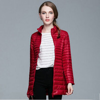 Wholesale Fashion Lady Clothes Winter Jacket Down Coats Thick Parka Waterproof Jacket Duck Down European Style Warm Luxury Coat Snow Feather Parka