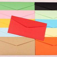 baby invitation paper - 50pcs Envelopes Paper Envelopes mm Color Envelopes Cute Colorful Baby Gift Craft Envelopes for Wedding Letter Invitations