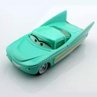 auto diecast - mcqueen friend Flo miniatures race cars2 cartoon toys alloy metal diecast truck cars autos de juguete models pixar car toys for kid boys