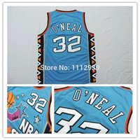 Wholesale Cheap Orlando Shaquille Oneal Jersey Shaquille Oneal All Star Jersey Shaq Jersey Throwback Basketball Jersey