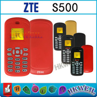 Wholesale Original ZTE S500 GSM Mobile Phone With Inch Screen Single Sim Card With English G Factory Unlocked Phones