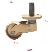 Wholesale Copper Brass Caster Wheels x2 cm Furniture Caster Piano Wheels GD