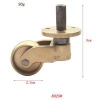 Wholesale Copper Brass Caster Wheels x2 cm Furniture Caster Piano Wheels GD