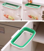 Wholesale Kitchen Accessories Practical Kitchen Garbage Bag Plastic Bracket Plastic hook Garbage Pocket Rubish Bag Support rubbish