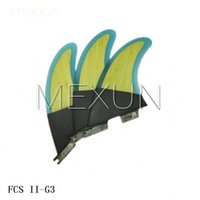 Wholesale 2015 High quality FCS II G3 fins with fiberglass honey comb material for surfing SIZE S