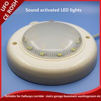 activate unique - Munafacturer UFO W w LED sound activated lights cheap price unique modern design lamp bulbs AC85 V