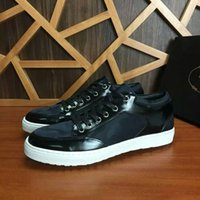 b and p - Hot Pr Brand Male Classic Sneaker Casual Shoes P Design Genuine Leather Men Shoes Casual shoes