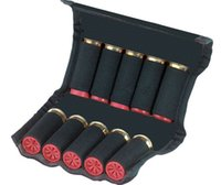 Wholesale 10 Round Shotgun Shell Holder Folding Ammo Bag Hunting Bullet Holder shell pouch
