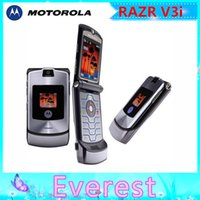 flip camera - Original Flip phone Motorola v3i refurbished mobile phone All GSM Carrier work AT T T Mobile Russian Keyboard Support one year warranty