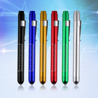 aids doctor - 1PC High Quality Penlight Pen Light Torch Emergency Medical Doctor Nurse Surgical First Aid Working Camping Necessity