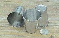 best kidney - Stainless steel shot glass ML Cheap Stainless Steel Stainless Steel Shot Glass Best Hip Kidney Flask Mini Shot Glass HHA939