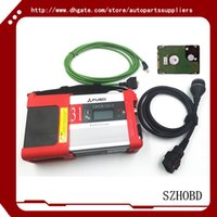 automotive kit cars - 2016 Top quality Mitsubishi Fuso C5 Diagnostic Kit Mitsubishi Fuso SD Connect Compact with software in HDD car diagnostic scanner