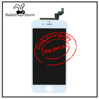 bar ear rings - For Iphone s or s LCD AAA Quality touch screen with ear dust mesh and camera ring white or black Free DHL Shipping
