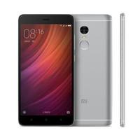 al por mayor xiaomi 3g teléfono-Xiaomi Redmi Note4 Nota 4 PRO 5.5 pulgadas 3G RAM 32G ROM Deca Núcleo 13.0MP 4G LTE Teléfono móvil Touch ID