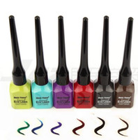 Wholesale KIMUSE Music Flower Brand Color Liquid Eyeliner Eye liner pencil Colors water proof