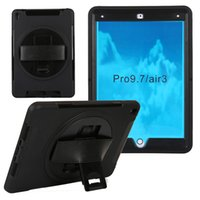 Wholesale iPad Pro Case New Flying wheel Pro iPad Case for iPad Pro inch tablet with Degree Rotatable Rugged Shock Proof Built in Stand