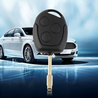 Wholesale 3 Buttons Hot Uncut Remote Key Fob D60 Chip Blade Replacement For Mondeo Key